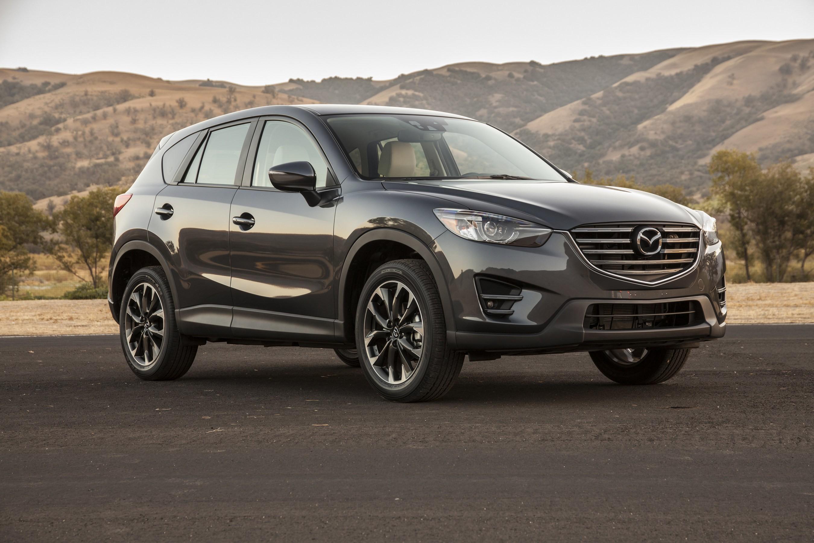 Mazda показала обновленный кроссовер типа 2016.5 CX-5