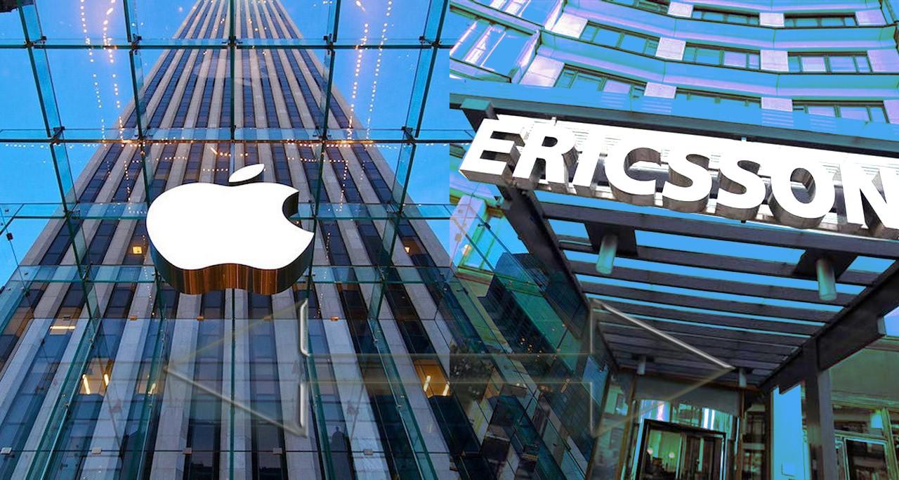 Apple и Ericsson разрешили патентный спор