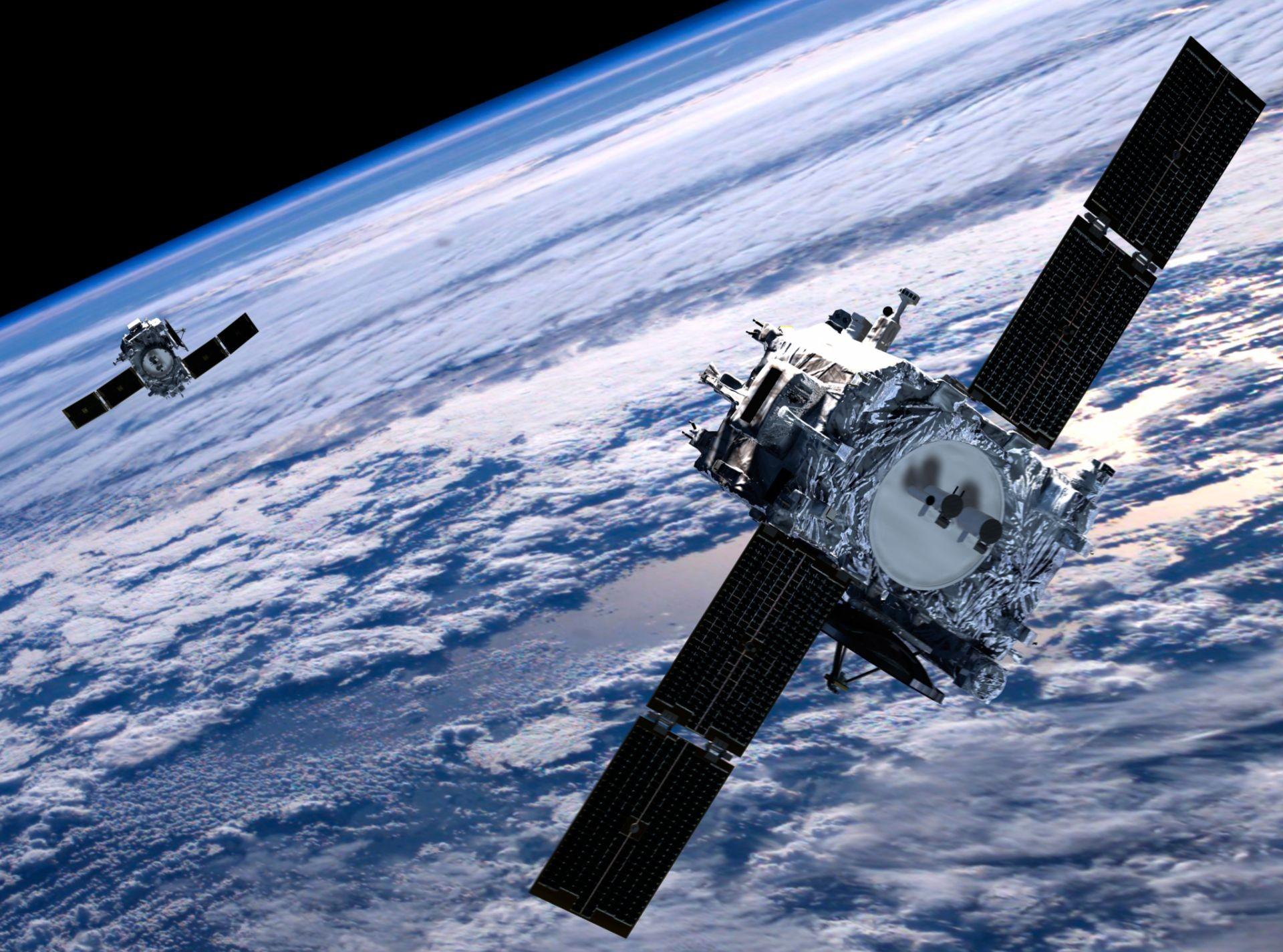 Впервые частная фирма России продала два спутника на орбите в США