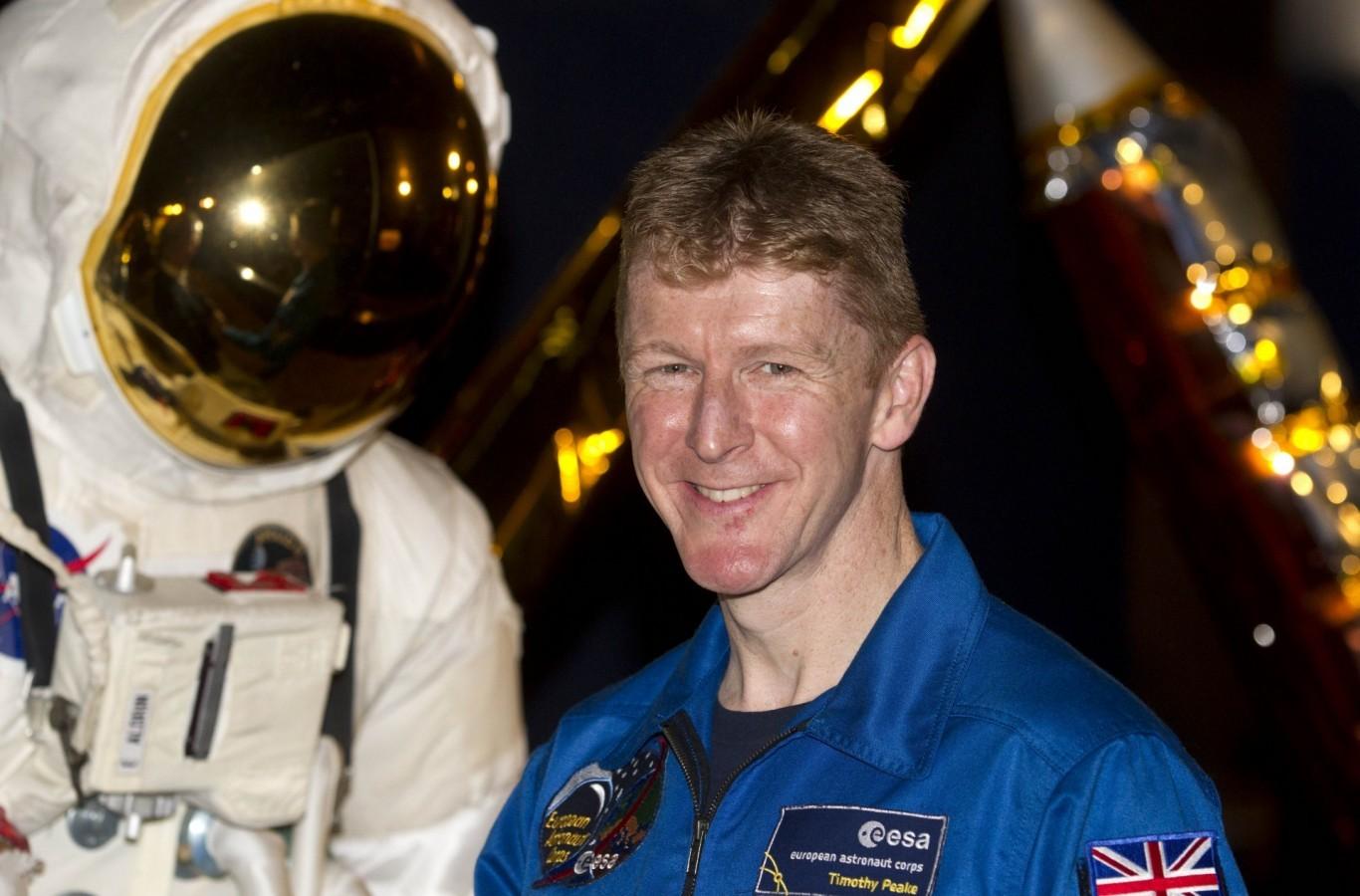 Британский астронавт по ошибке позвонил из космоса незнакомой женщине