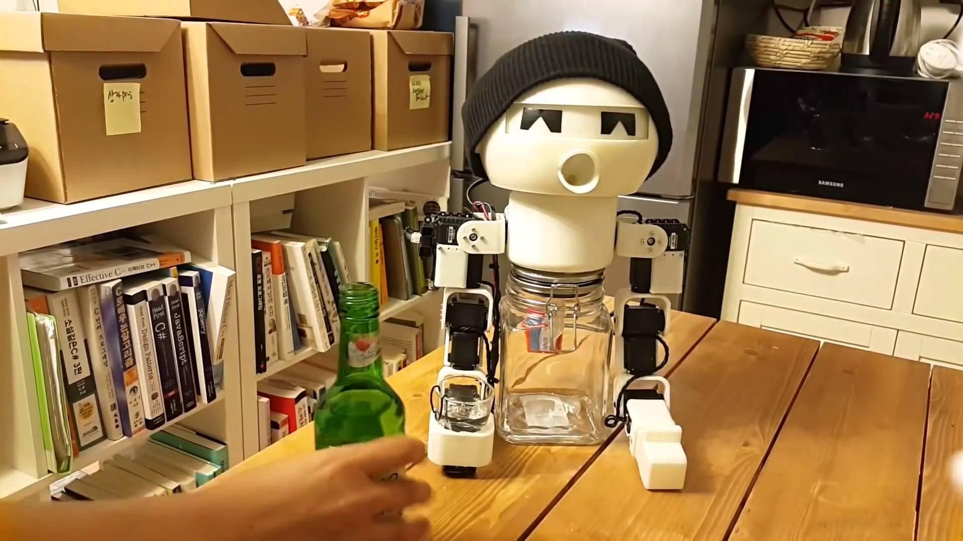 Робот-собутыльник порадовал пользователей Facebook