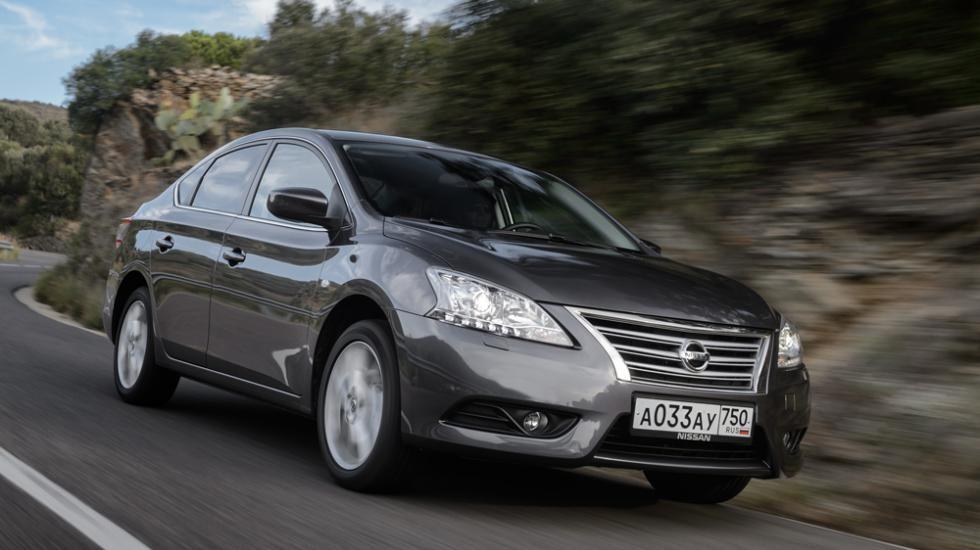 Компания Ниссан объявила цены на улучшенный седан Sentra