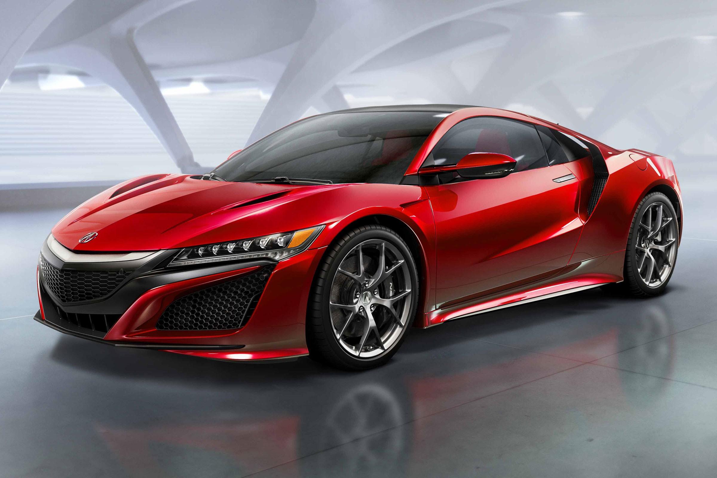 Самым ожидаемым автомобилем 2016 годя стал спорткар Honda NSX