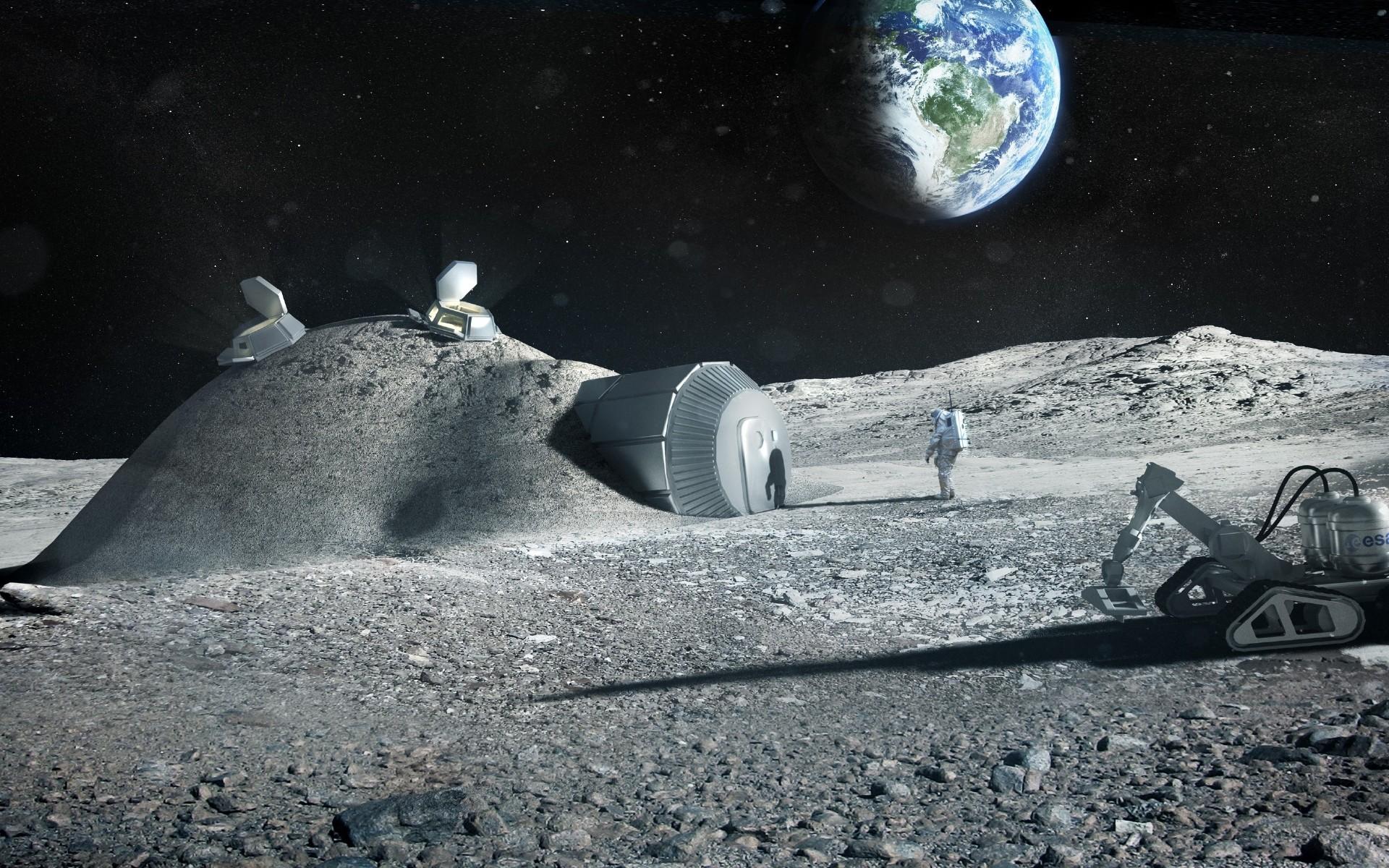 Деревня на Луне откроет для человечества портал в новую эру — Ученые
