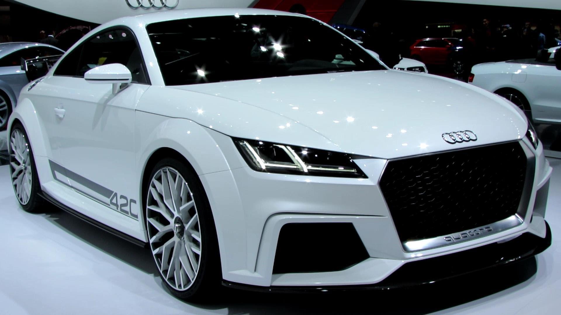 Новая Audi TT RS получит мощный пятицилиндровый мотор