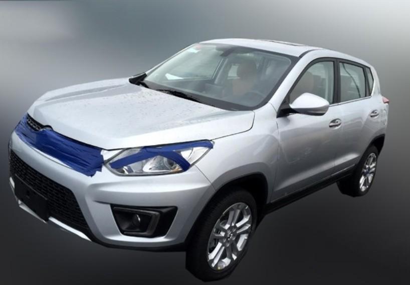 Beijing Auto готовится выпустить на рынок Китая новый SUV Senova X35