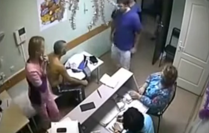 Доктор забил досмерти пациента в клинике вБелгороде (видео 18+)
