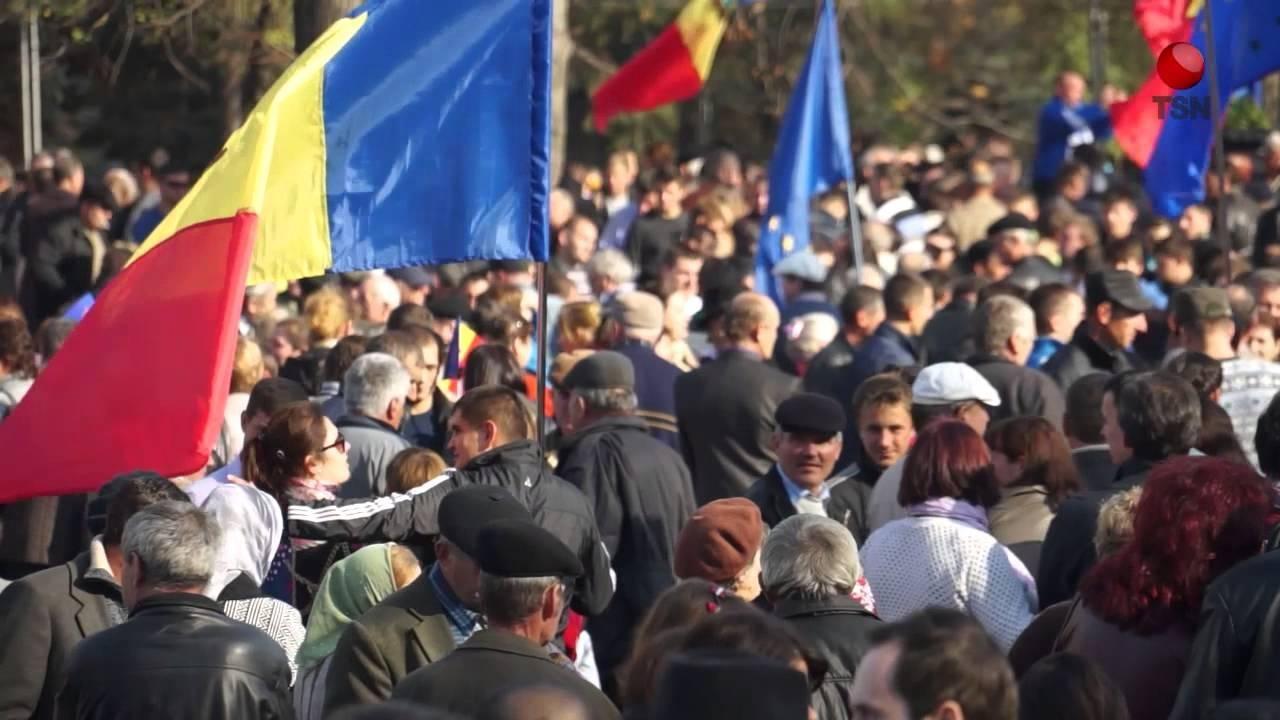 В столице Молдавии 10 тысяч человек вышли на митинг против кандидатуры премьера