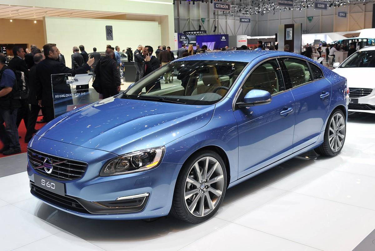 Новая генерация Volvo S60 появится в 2017 году