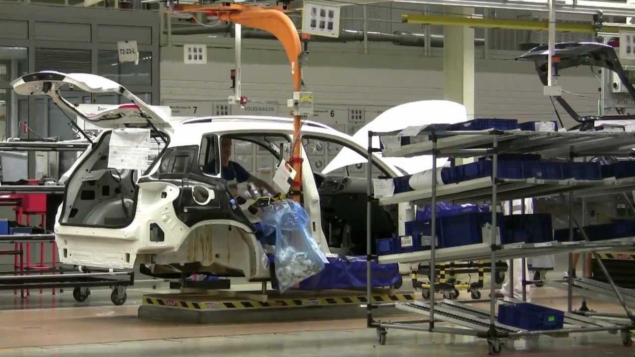 Компания Volkswagen возобновила сборку авто на заводе в Калуге