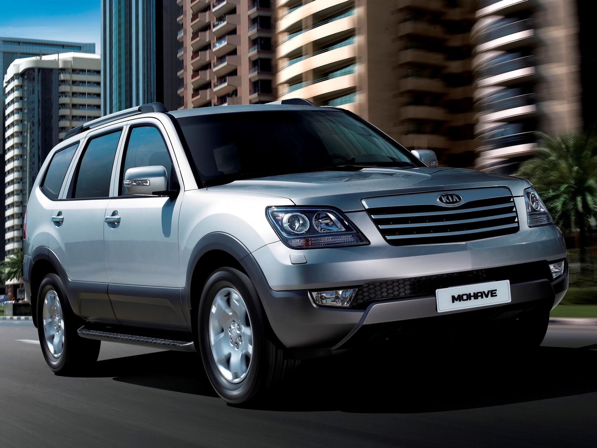 Kia Motors представила рестайлинговый внедорожник Mohave