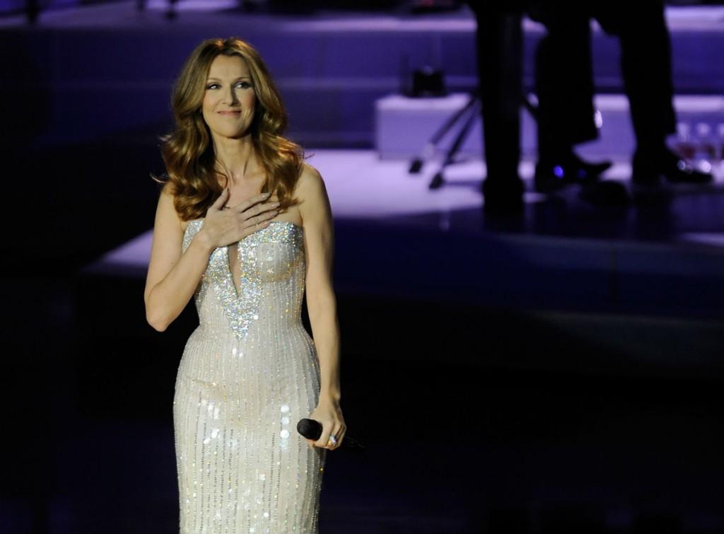 Певица Селин Дион вернется на сцену уже в феврале