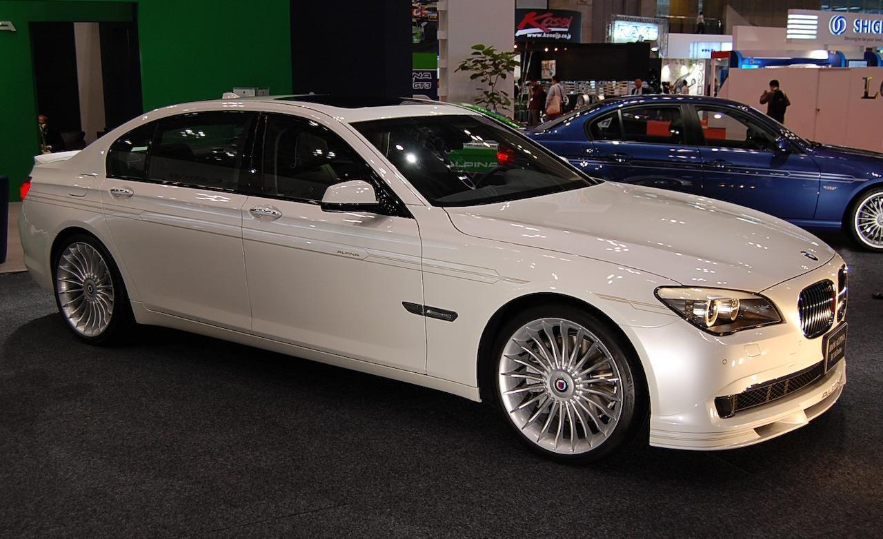 Alpina покажет в Женеве новый мощный седан B7