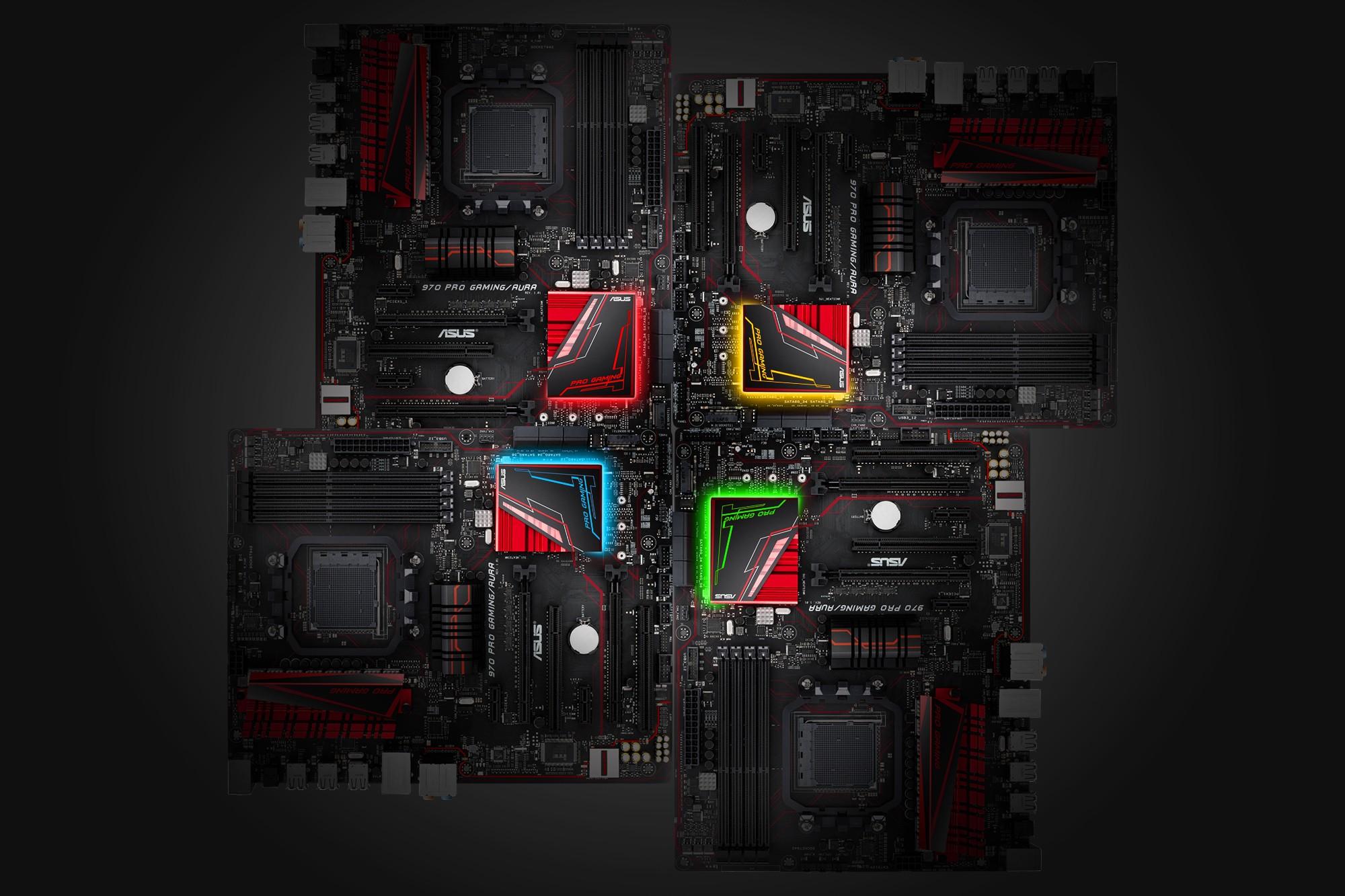 Asus представила новую игровую материнскую плату 970 Pro Gaming  Aura