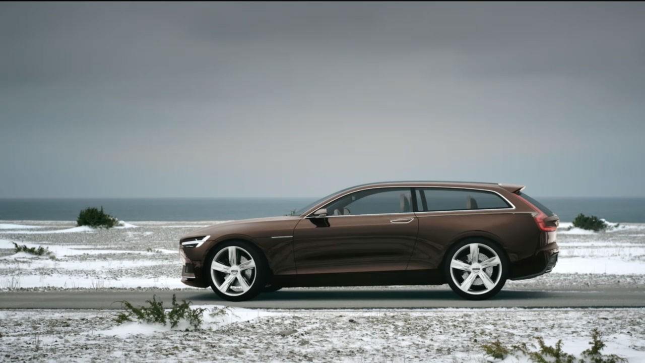 В Стокгольме 18 февраля пройдет презентация нового Volvo V90