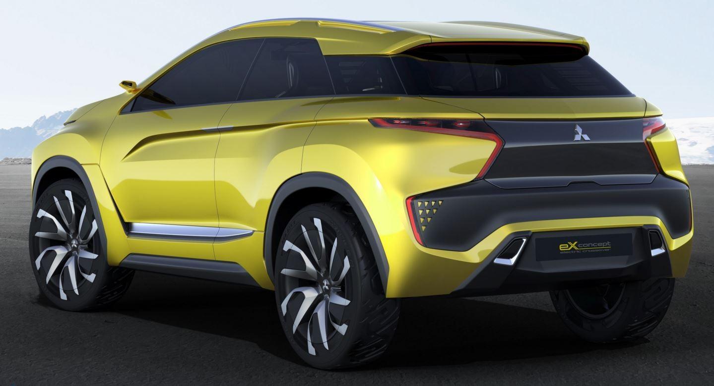 Mitsubishi Motors представит eX-Concept на автосалоне в Женеве 2016