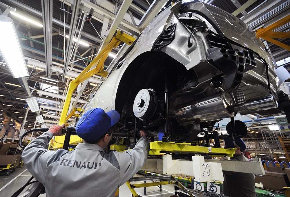 Renault готовится запустить в России сборку новой модели
