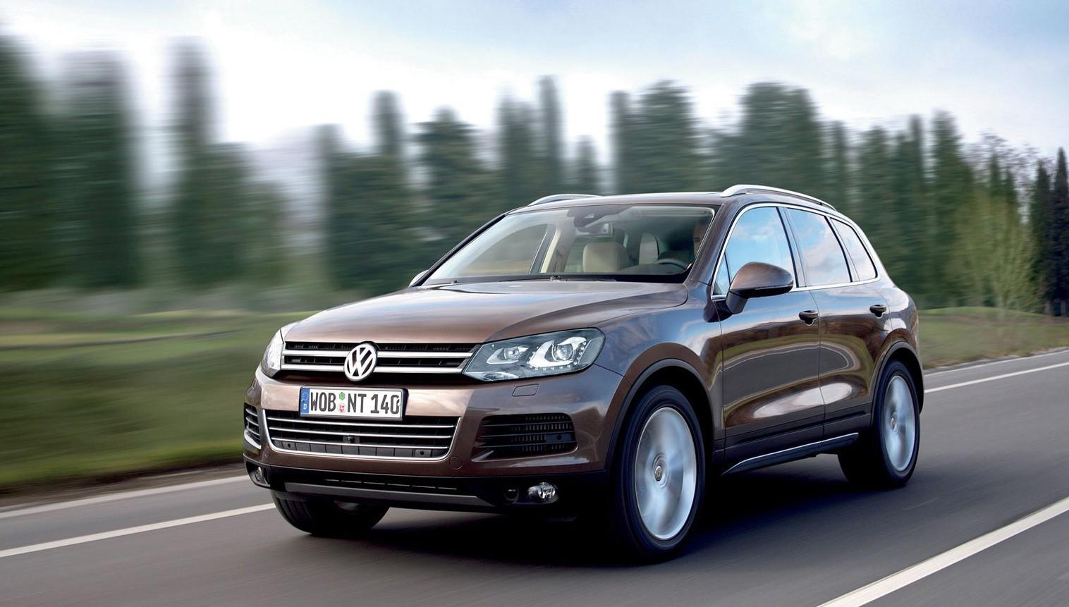 Volkswagen прекратили продажи ряда версий Touareg в России