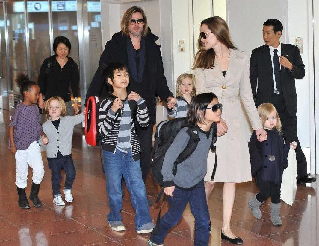 Многодетная мать Анджелина Джоли сообщила, что никогда нехотела детей