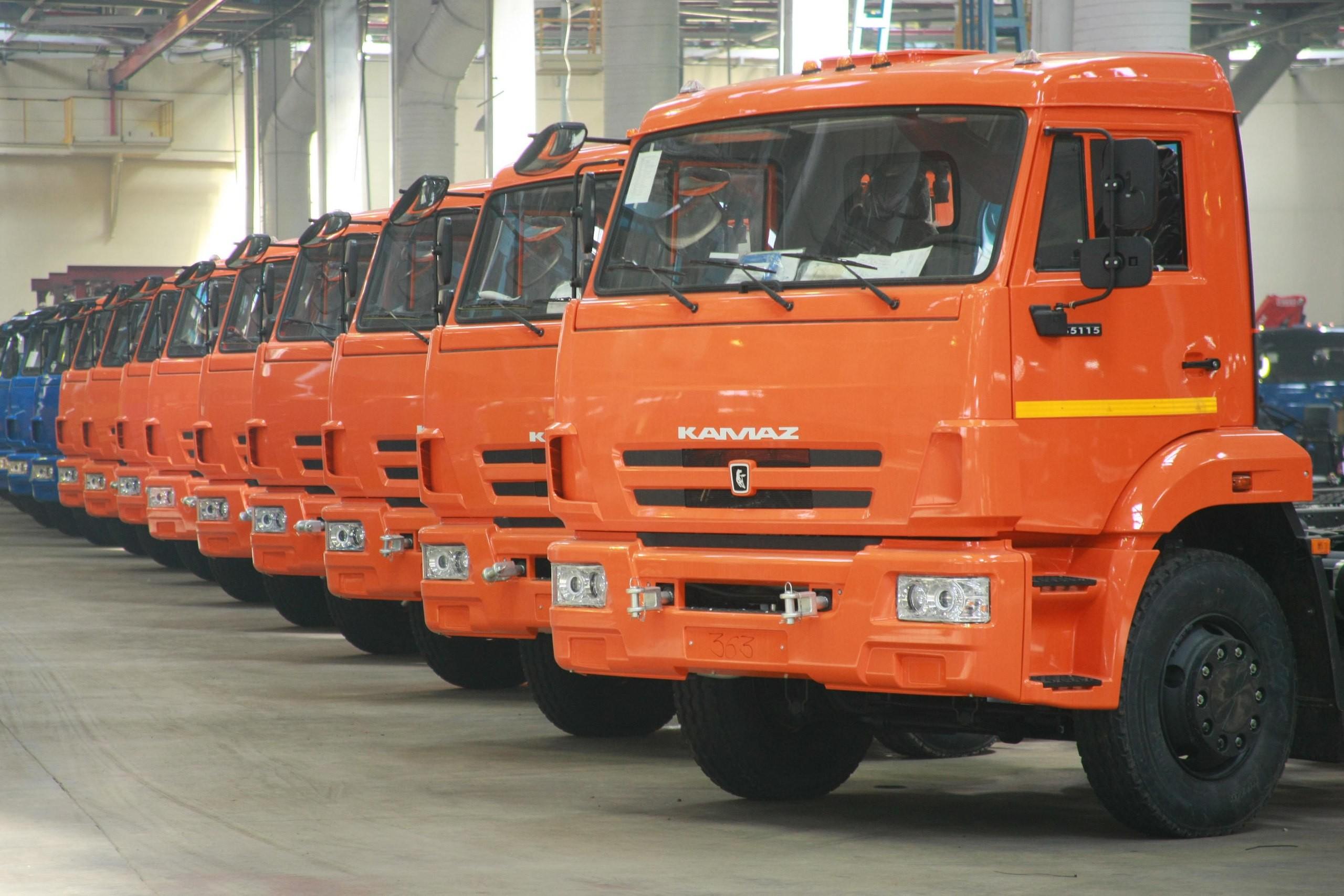 КАМАЗ наращивает продажу грузовиков в лизинге
