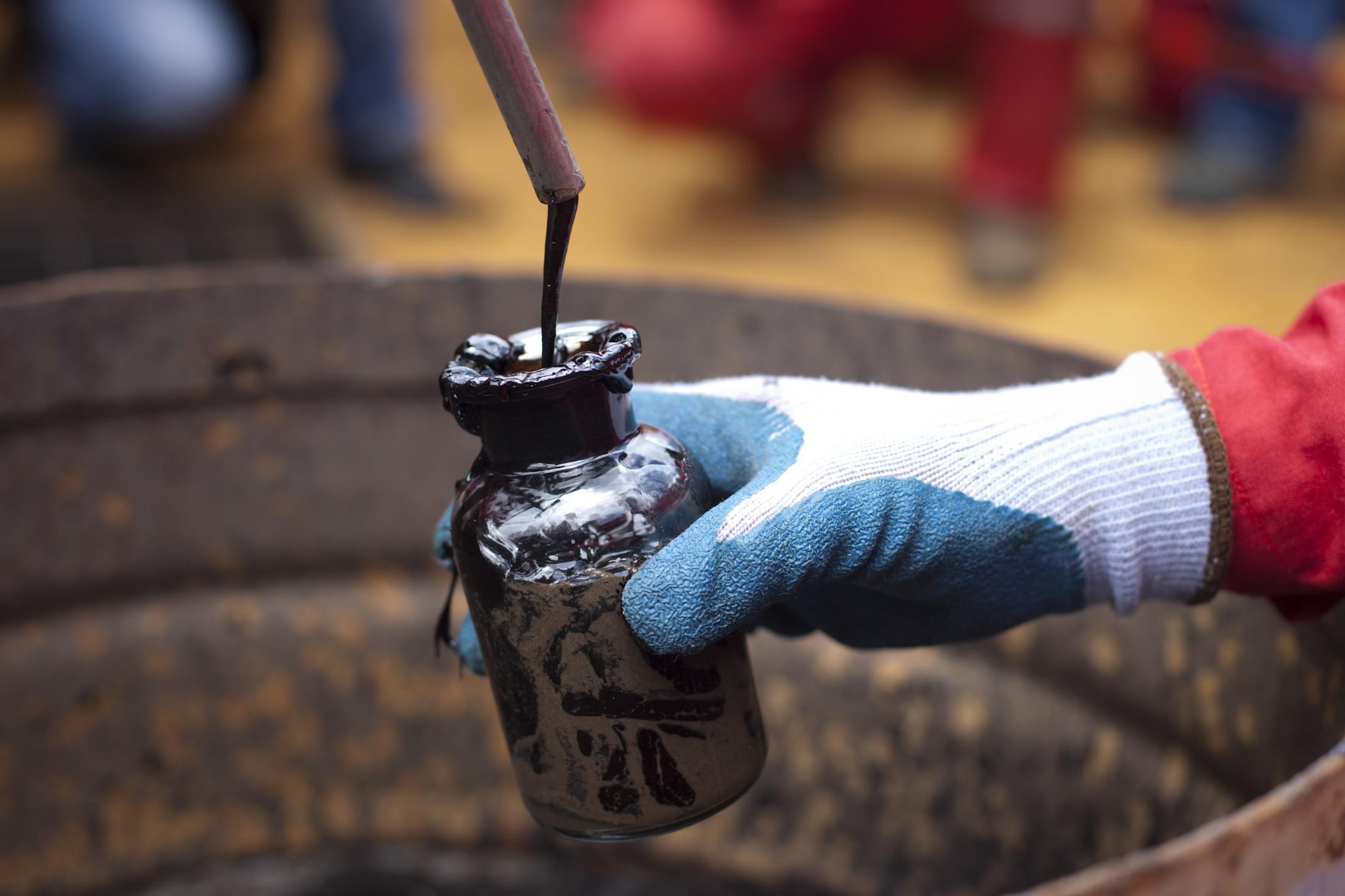 Баррель нефти марки Brent подорожал до $34,06