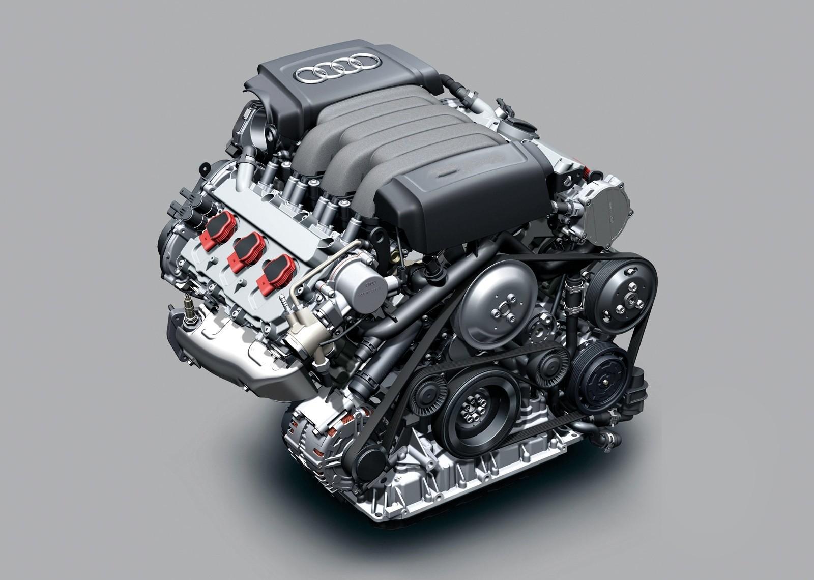 Audi представит в апреле новый дизельный двигатель TDI V8