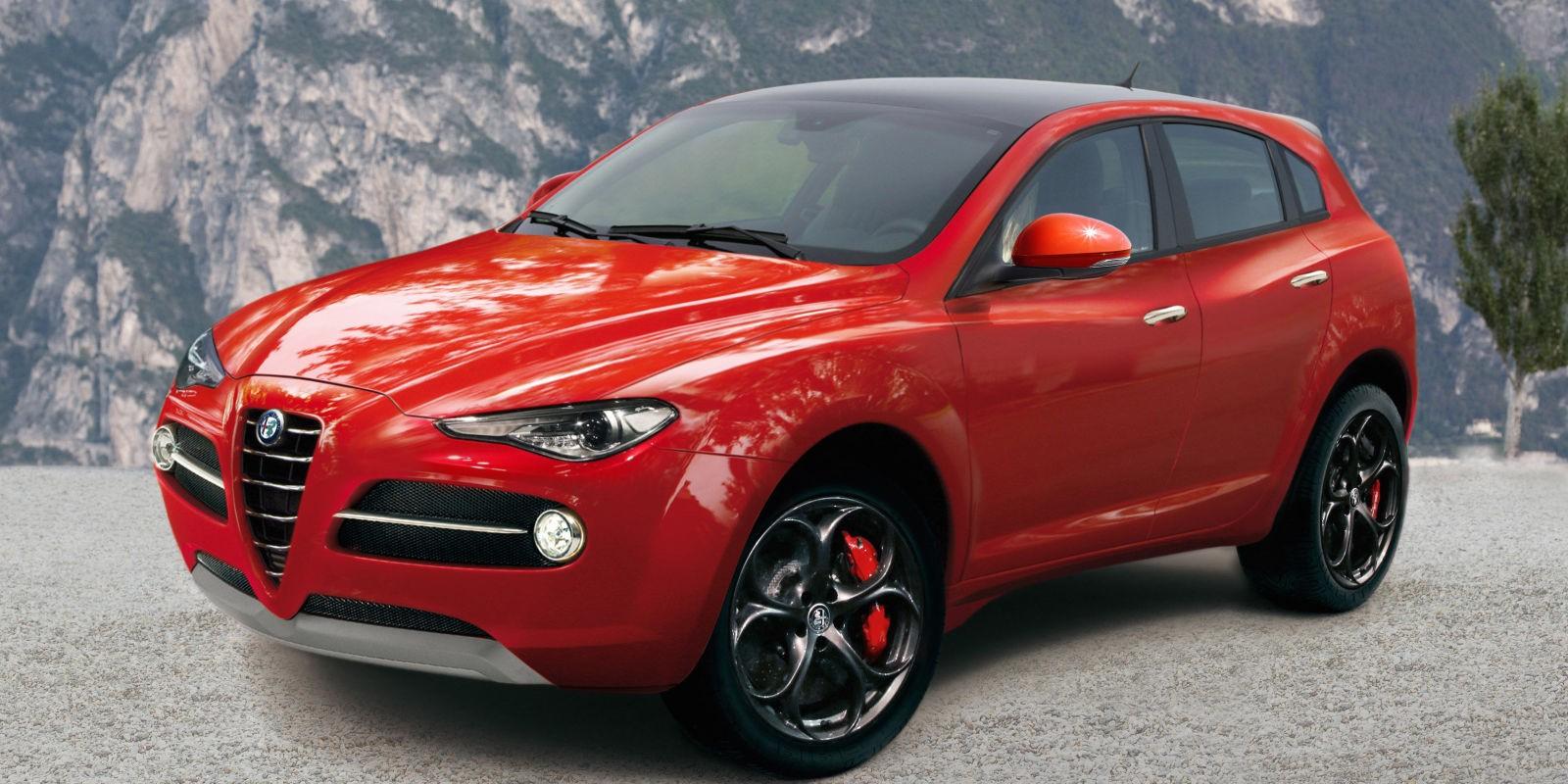 Alfa Romeo покажет кроссовер Stelvio в Лос-Анджелесе