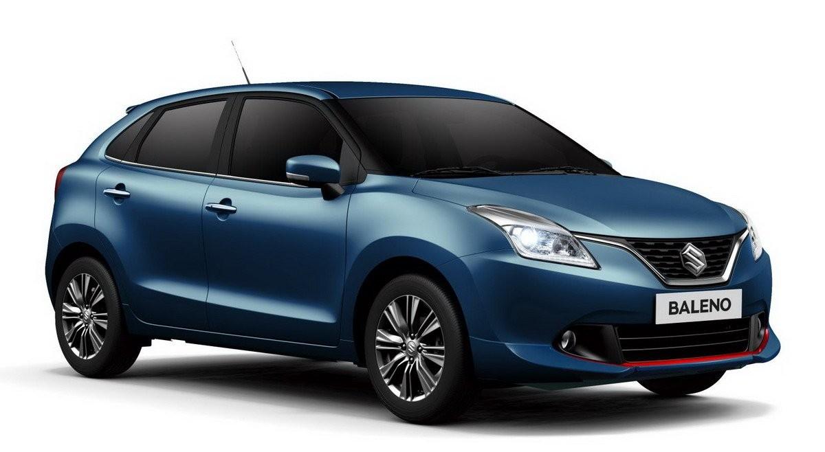 Старт продаж Suzuki Baleno намечен на апрель 2016 года