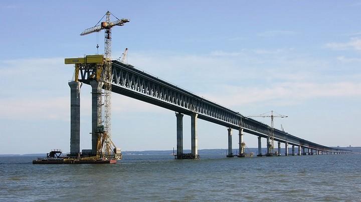 Движение поКерченскому мосту откроется доначала зимы 2018-ого года