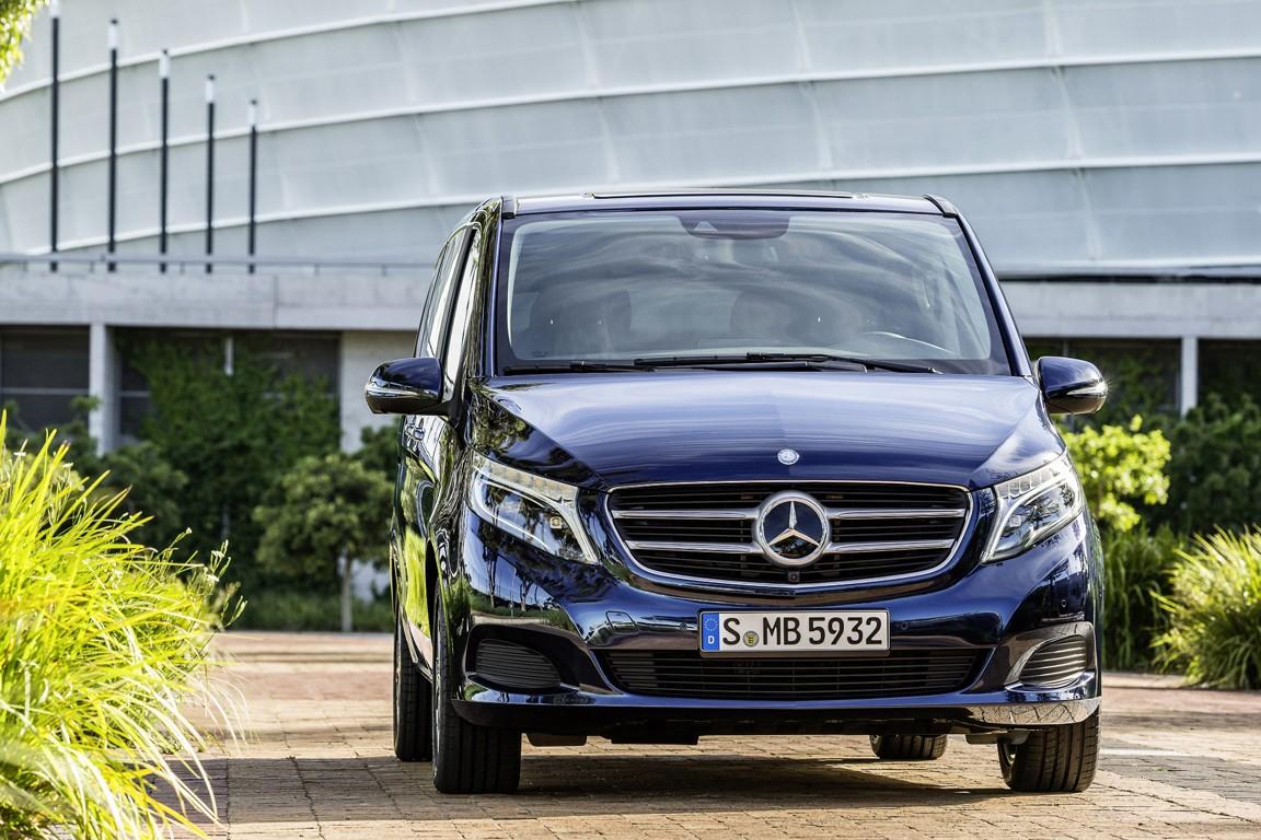 Benz повысил цены наминивэны V-Class вРФ