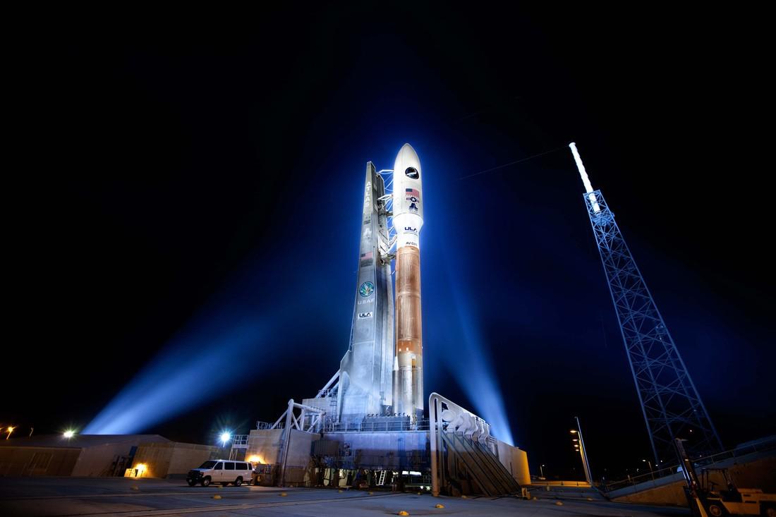 Ракета Atlas V с кораблем Cygnus стартовала с мыса Канаверал
