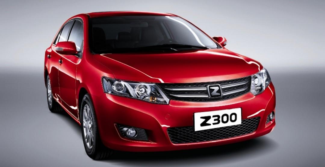 В России в продаже появился китайский седан Zotye Z300