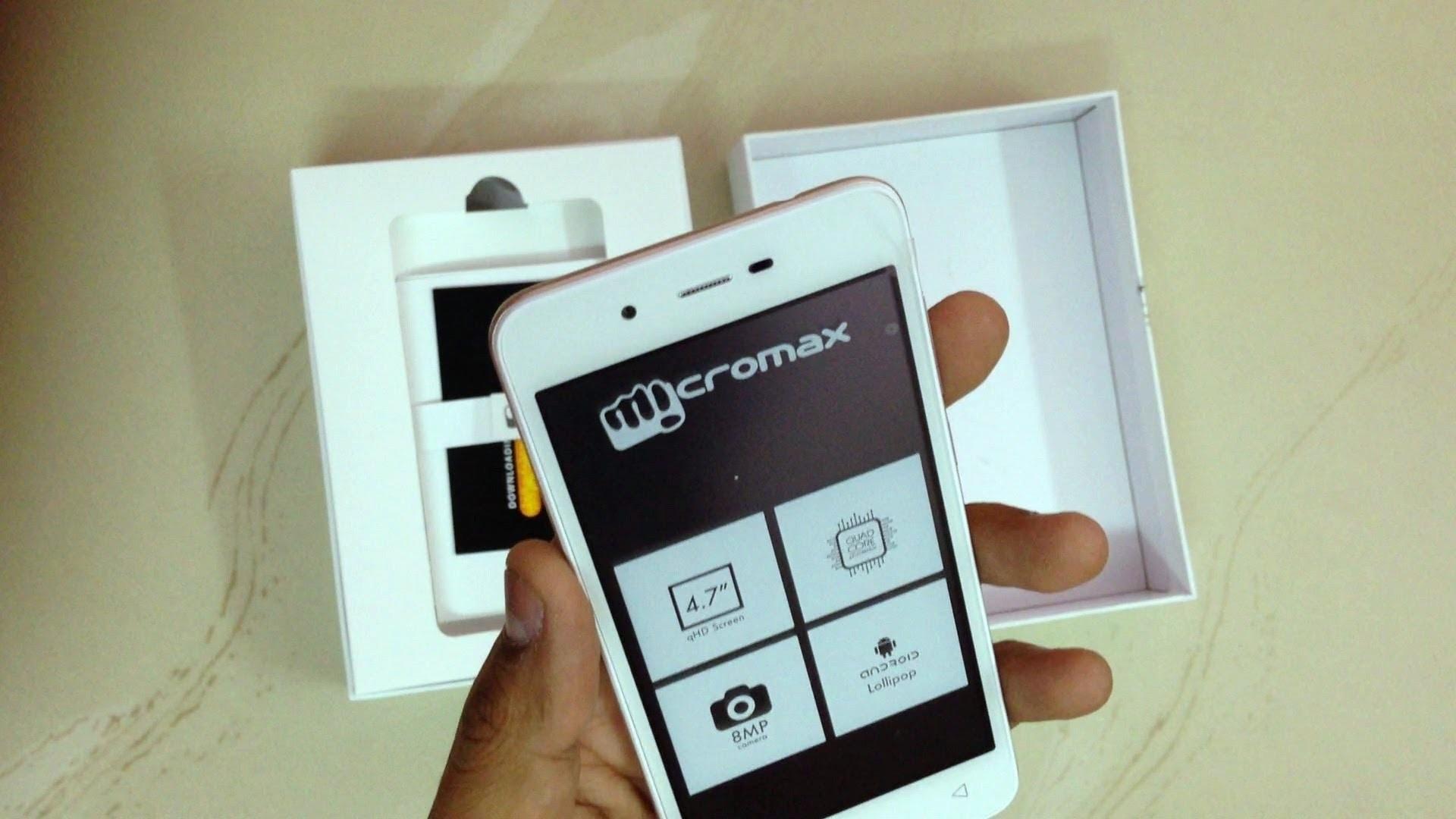 Индийская компания Micromax Mobile представила в России бюджетный смартфон Bolt Q333