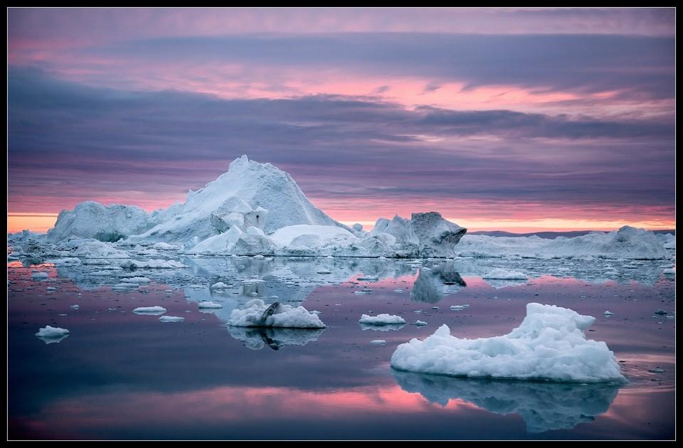 Таяние полярных льдов может воздействовать нанаклон ивращение Земли