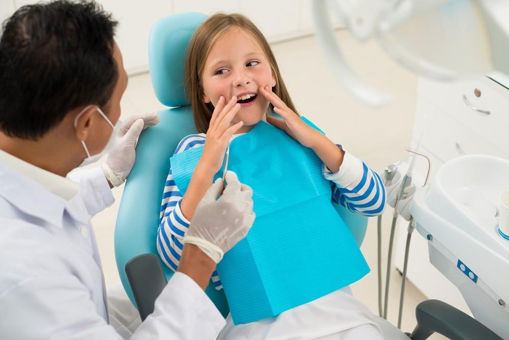 Работа детского стоматолога