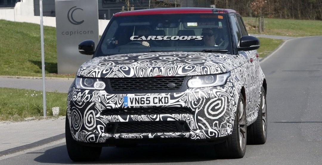 Range Rover Sport SVR станет мощнее