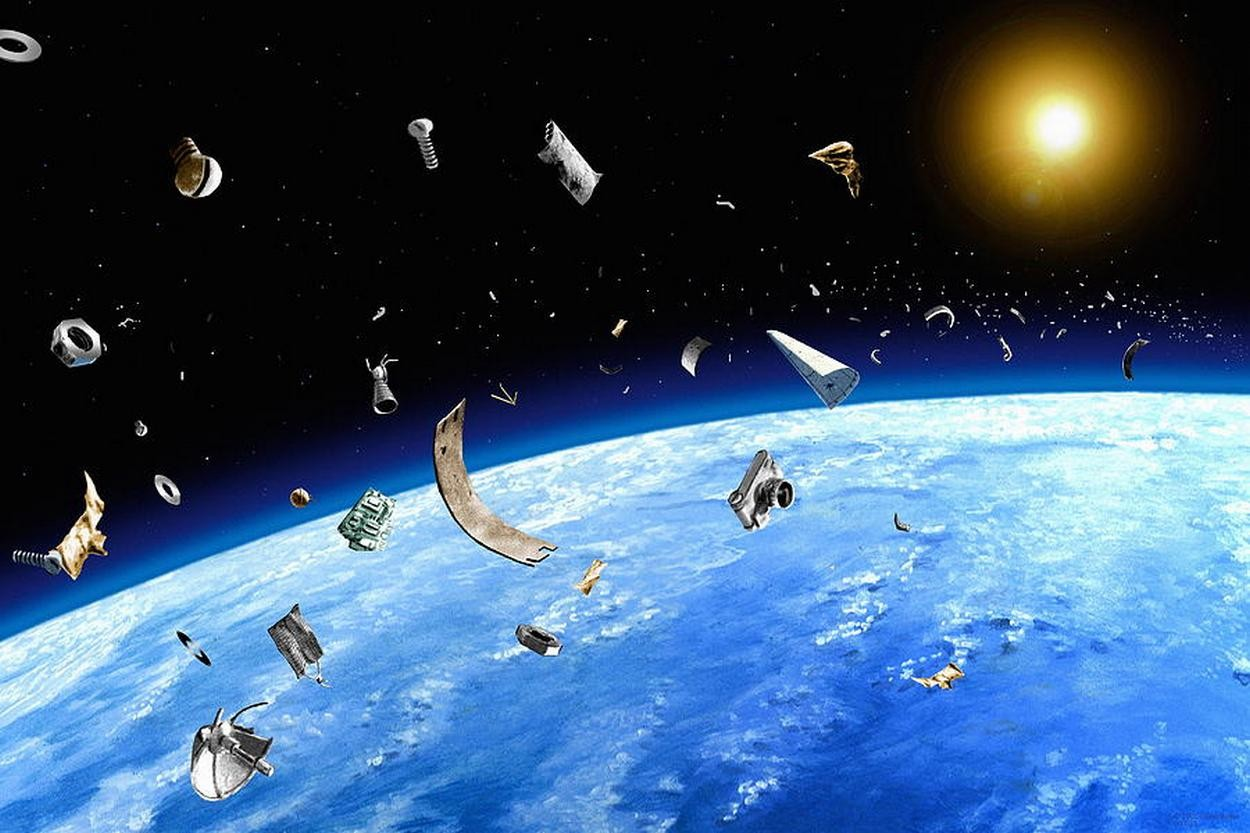Россия снизила свою долю мусора наоколоземной орбите