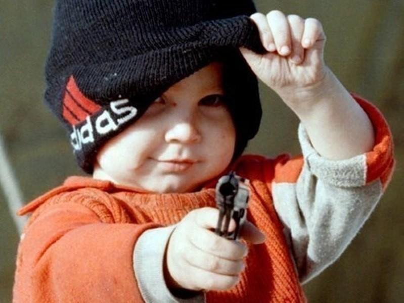 ВСША 5-летний брат застрелил 4-летнюю сестренку