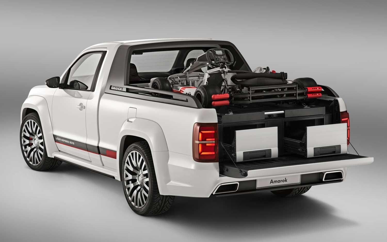 Volkswagen начал тестирование обновленной версии пикапа Amarok