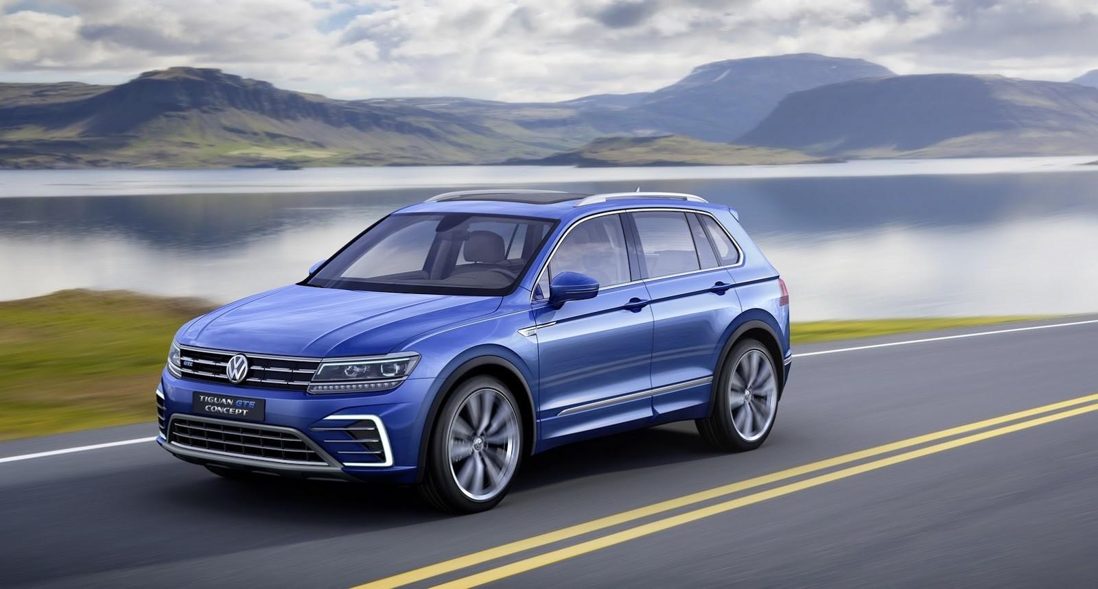 Volkswagen назвал дату начала продаж Tiguan в России