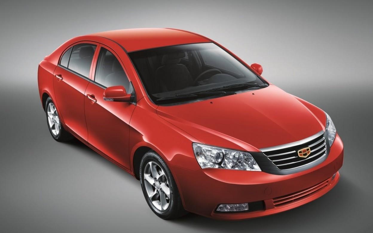 Популярный седан Geely Emgrand EC7 обновили для России