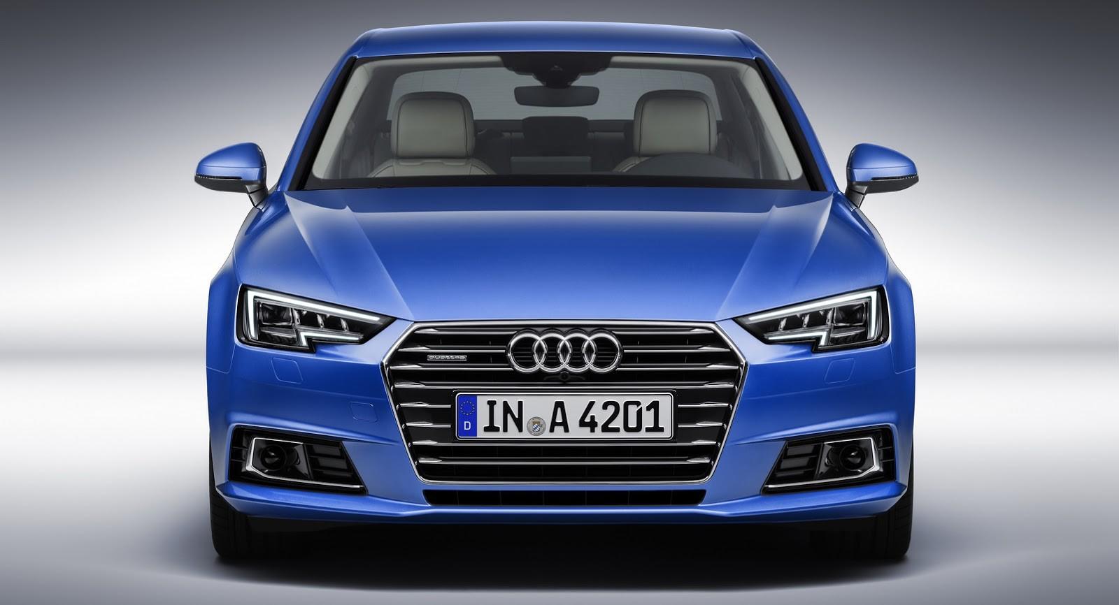 Audi представила удлинённый седан A4 L