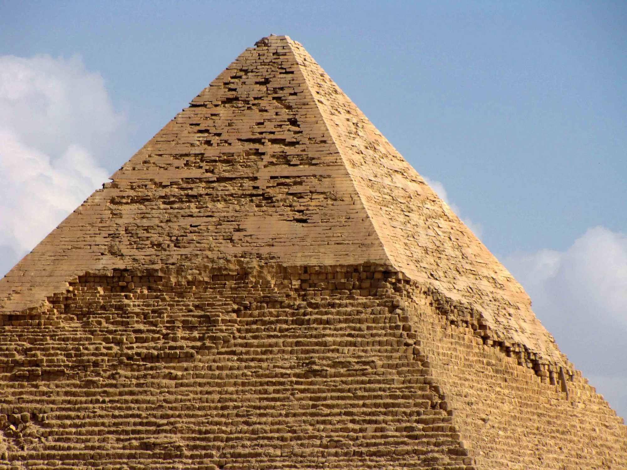Ученые впервые изучили пирамиду при помощи космических лучей