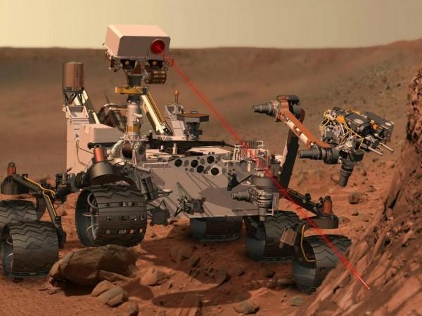 На Марсе обнаружен наскальный рисунок бегущего человека