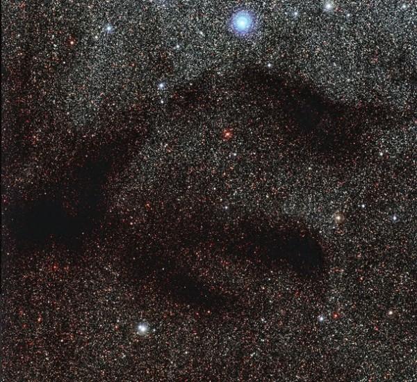 Астрономы показали туманность LDN 1768
