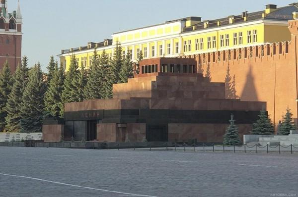 Мавзолей имени Ленина будет закрыт для посетителей с 18 апреля по 14 мая