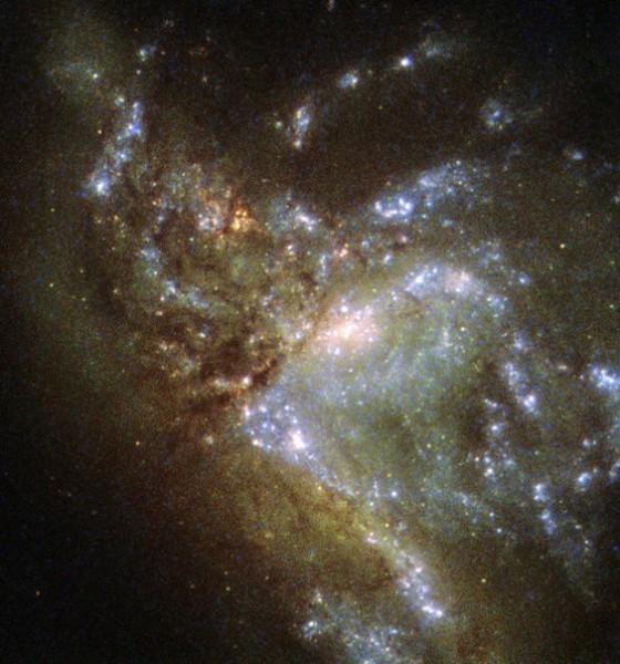 Новая сверхъяркая галактика обнаружена с помощью труда британских астрономов