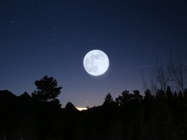 Полная луна ухудшает детский сон доказано учеными