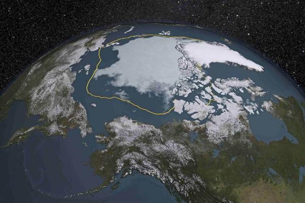 Ученые: Таяние льдов Арктики летом 2016 года может побить рекорд зимы 2012