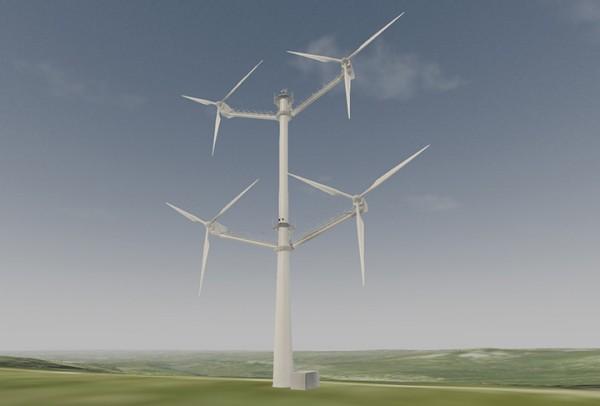 Vestas представила новые ветрогенераторы